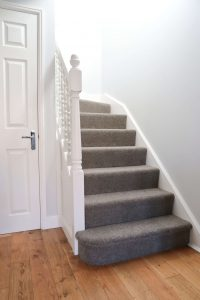 Our hard wearing wool blend twist carpet on our stairs should last for years if we look after it