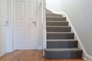 Lakeland Twist Carpet on our stairs from United Carpets ideal for high traffic areas