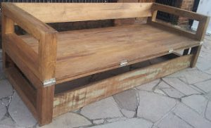 Wooden DIY Flip-over sofabed