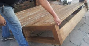 Wooden DIY Flip-over sofabed