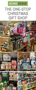 HomeSense is the one-stop Christmas Gift Shop if you're stuck for a gift for him, her, kids, foodies, hosts. There are toys, decorations, books, games, perfumes and more in store #Christmas #Christmasgifts