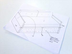 DIY Sofabed Day bed design plans